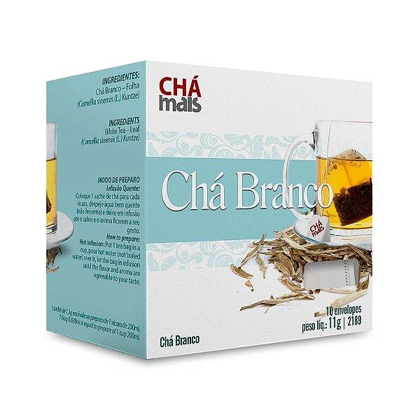 Chá Branco - CháMais - 10 Sachês
