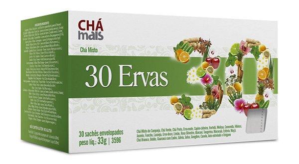 Chá Misto 30 Ervas - CháMais - 30 Sachês
