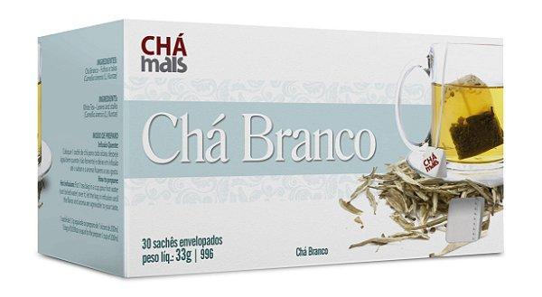 Chá Branco - CháMais - 30 Sachês
