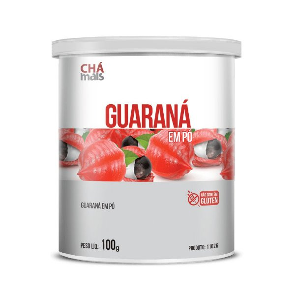 Guaraná Pó - CháMais - 100g - Pote