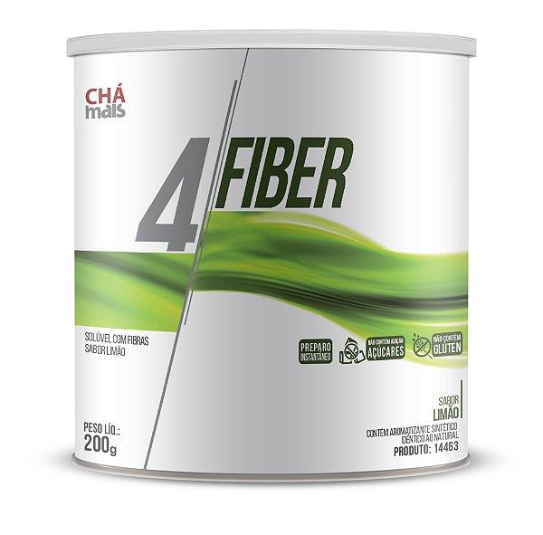 4 Fiber sabor Limão Solúvel - ClinicMais -  200g