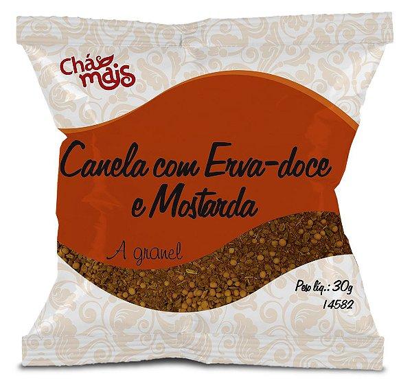Chá Misto de Canela com Erva-doce e Mostarda - CháMais - A granel