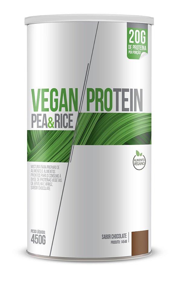 Vegan Protein Pea & Rice sabor Chocolate - CháMais - 450g