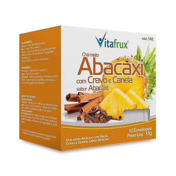 Chá Misto de Abacaxi com Cravo e Canela - Vitafrux - 10 Sachês