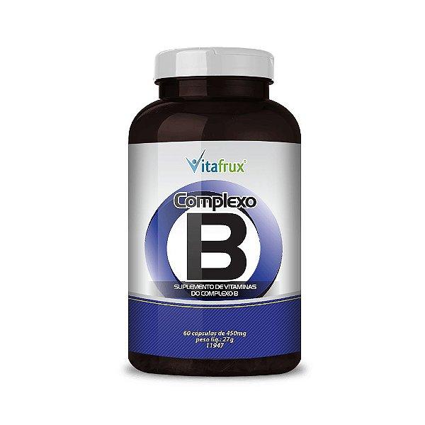 Complexo B em cápsulas - Vitafrux - 60 caps