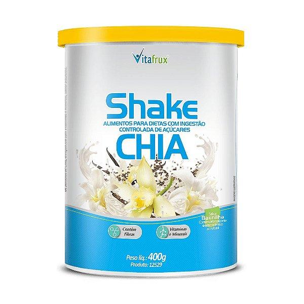 Shake de Chiasabor Baunilha - Vitafrux - 400g