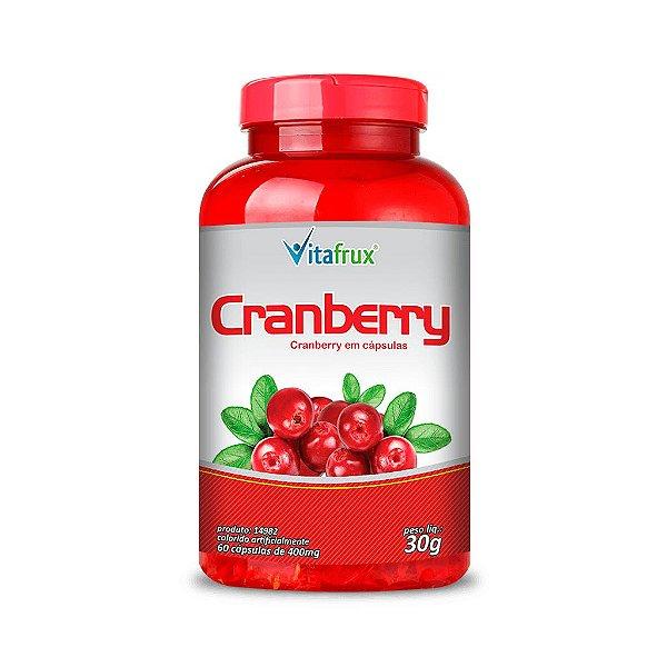 Cranberry em cápsulas - Vitafrux - 60 caps