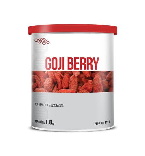 Goji berry Fruta Desidratada - CháMais - Pote - 100g