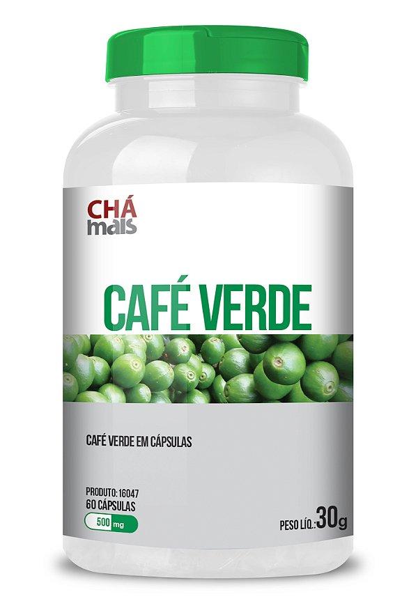 Café Verde em cápsulas - CháMais - 60 caps