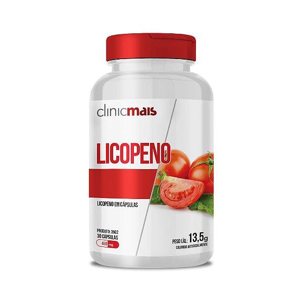 Licopeno em cápsulas - 30 caps - 13,5g - ClinicMais