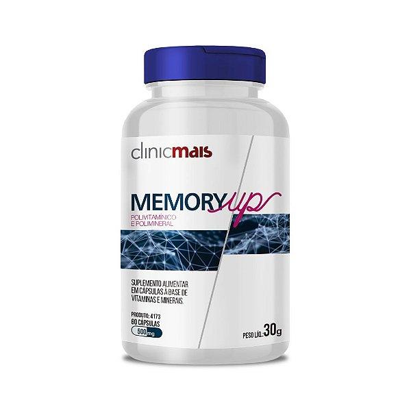 Memory Up - Polivitamínico e Polimineral - ClinicMais