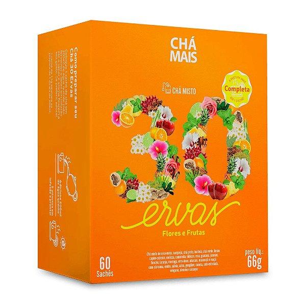 Chá misto 30 ervas - CháMais - 60 sachês