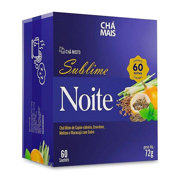 Chá misto Sublime Noite - CháMais - 60 sachês