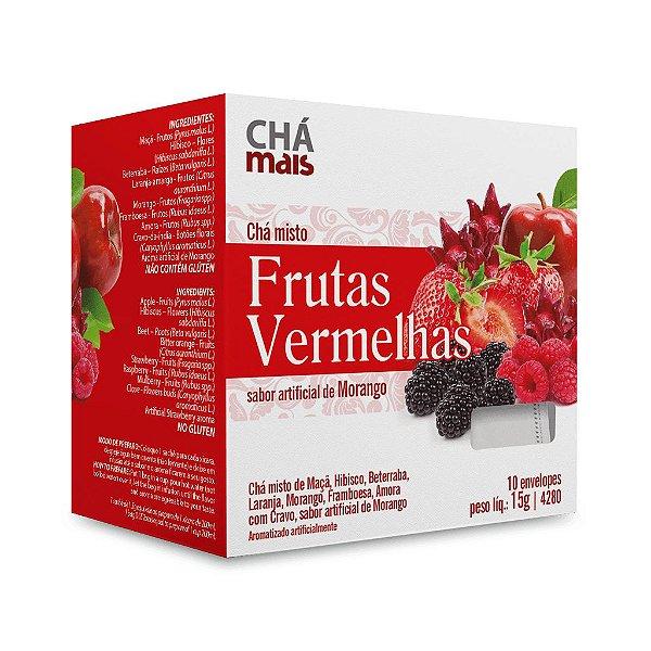 Chá Misto Frutas Vermelhas  - CháMais - 10 Sachês