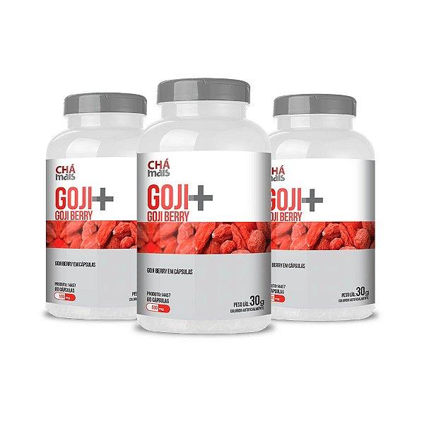 Combo - Goji+ em cápsulas - ClinicMais -  60 caps