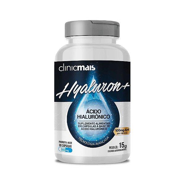 Hyaluron+ - Ácido Hialurônico em cápsulas - 30 cápsulas