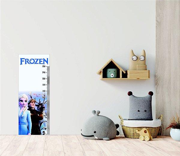 Adesivo Régua de Medição Disney Frozen