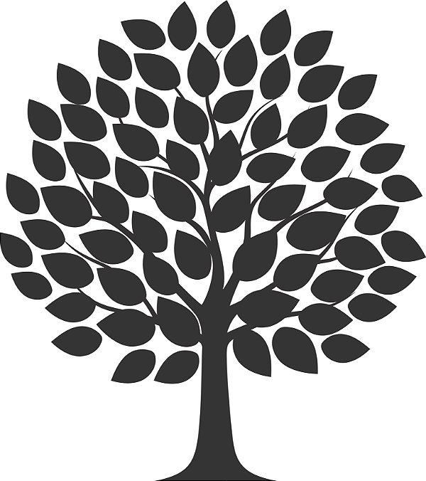 Adesivo de Parede Floral Árvore 03