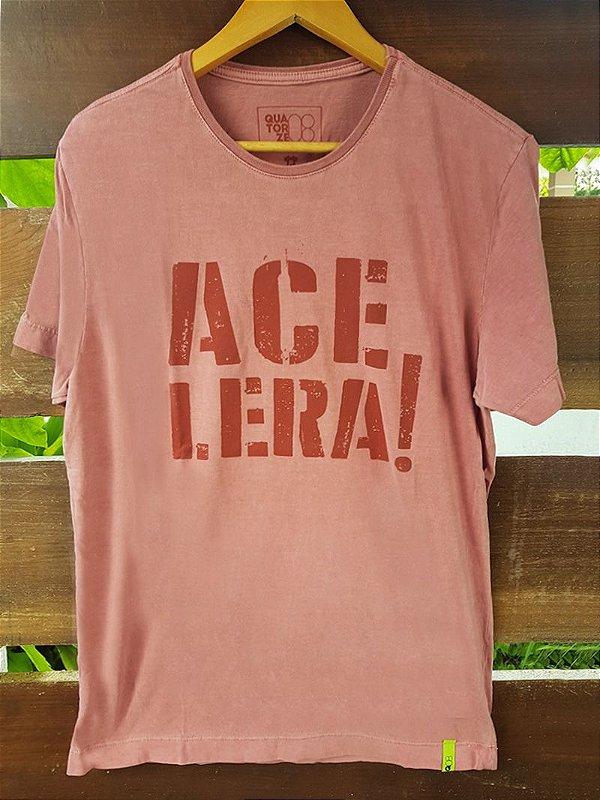 Camiseta Acelera Estonada Vermelha