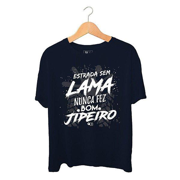 Camiseta Estrada Sem Lama Azul