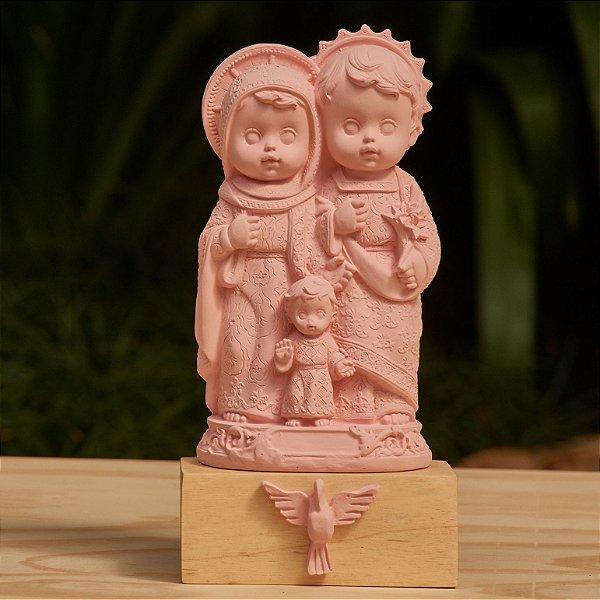 Sagrada Família Baby - Rosa Candy