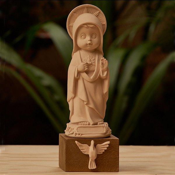 Sagrado Coração de Maria - Nude