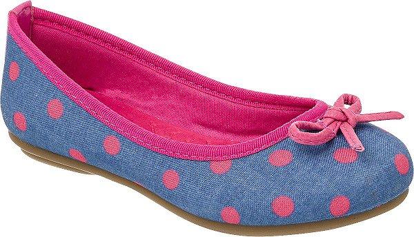 7c0818fa47 Sapatilha Klin Jully Jeans pink - Alencar Calçados e Bolsas