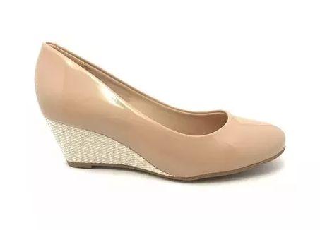 a7051eff2 Sapato Anabela Étnico Beira Rio Conforto - Alencar Calçados e Bolsas