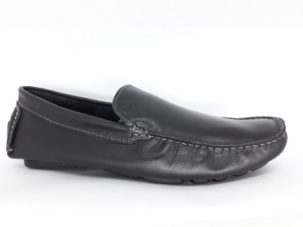 Mocassim Masculino Preto Mr. light 0024
