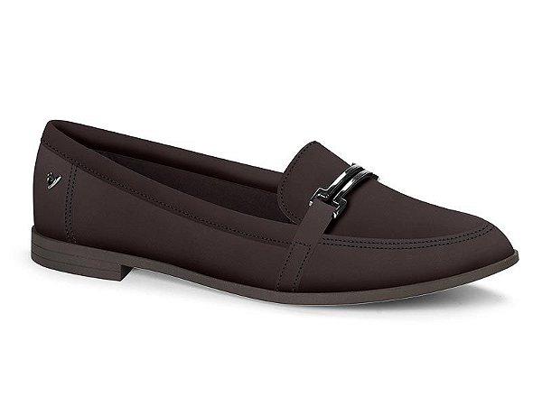 Sapato Casual Salto Baixo Com Fivela Mississipi Q0372