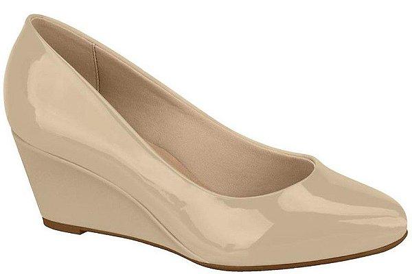 Sapato Feminino Anabela Beira Rio Bege & Preto 4229.100