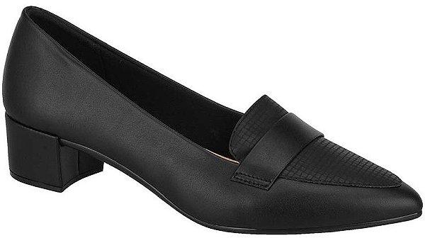 Sapato Feminino Beira Rio Conforto Scarpin Preto 4222.105