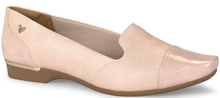 Sapato Feminino Mississipi Anabela Caramelo & Nude Q1333
