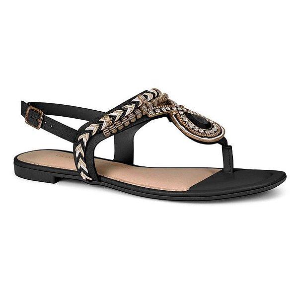 Sandália Dakota Casual Chic Preto Z5652