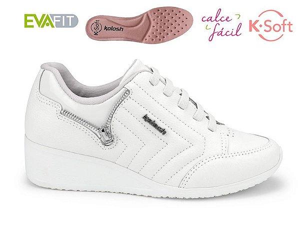 Tênis Anabela K-soft Kolosh Branco C1806