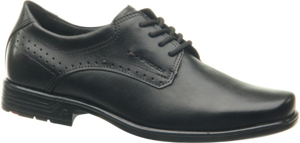 Sapato Social Masculino De Couro Pegada Preto 122104-1