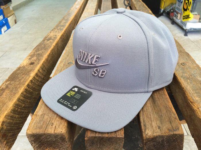 Boné Nike SB Icon Cinza