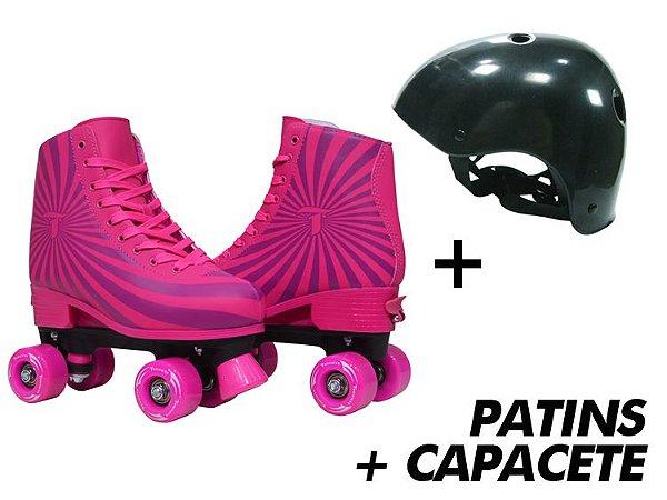 Patins Traxart X-Magic + Capacete  - Kit Especial