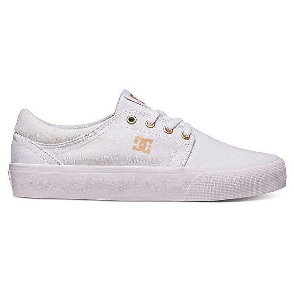 Tênis DC Shoes Trase White / Gum