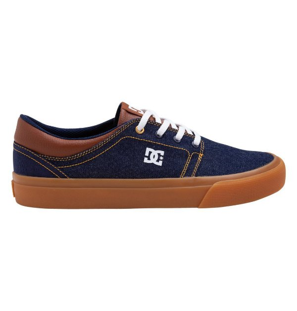Tênis DC Shoes Trase Wash Indgo