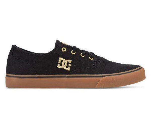 Tênis DC Shoes Flash 2 Black / Gold