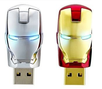 Pen Drive - Homem de Ferro - 4 Gb - Iron Man