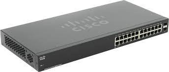 Switch Cisco 24 Portas Gigabit 2 Portas SFP 110 Series SG110-24