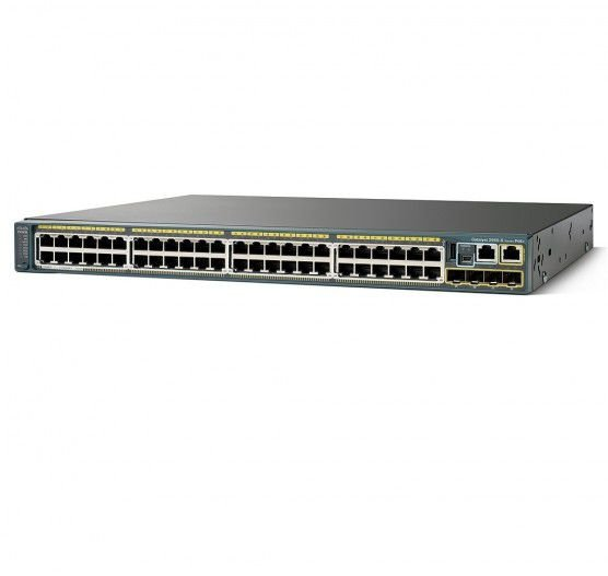 Switch Cisco CATALYST 2960-X 48 Portas POE WS-C2960X-48FPD-LB-BR