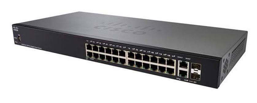 Switch Cisco 24 Portas Gigabit SG250-26