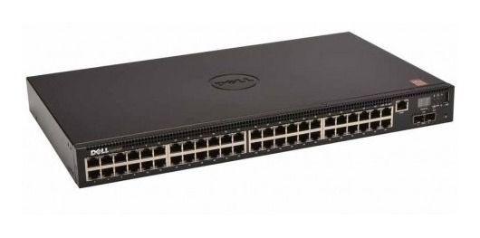 Switch Dell N2048 48 Portas Gigabit (2 Portas SFP+ 2 Portas Stacking) 210-ASNG