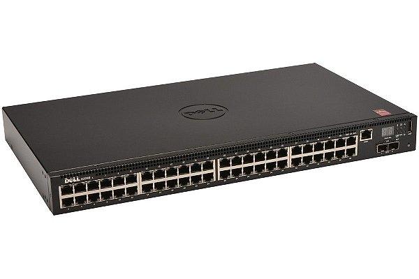 Switch Dell N2048P 48 Portas POE+ 2 Portas SFP 210-ABNY