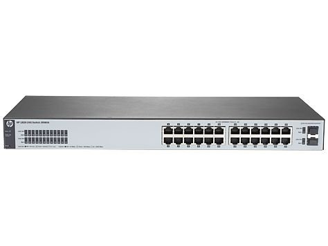 Switch HP 1820-24 Portas Gigabit 2 Portas SFP (substitui J9450A) J9980A