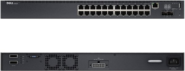 Switch Dell N2024 24G Gerenciável 2SFP 210-ASNC