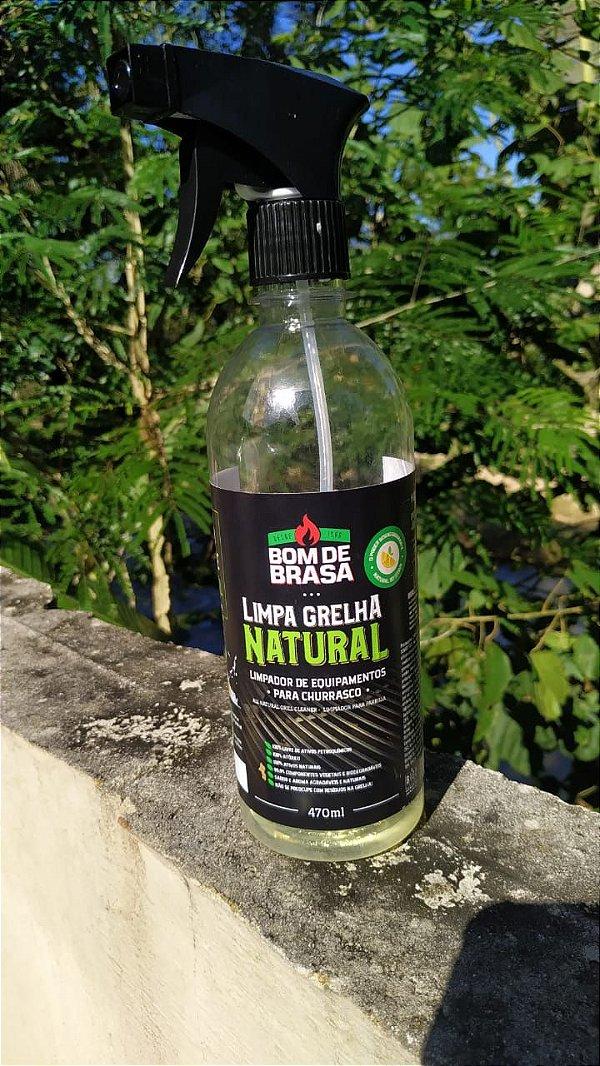Limpa Grelha Natural Bom de Brasa 470ml
